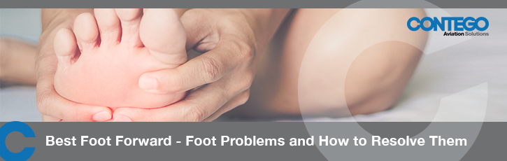 Best foot forward – foot problems and how to resolve them