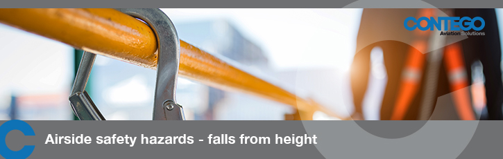 Airside Safety hazards – falls from height