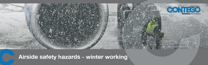 Airside safety hazards – winter working
