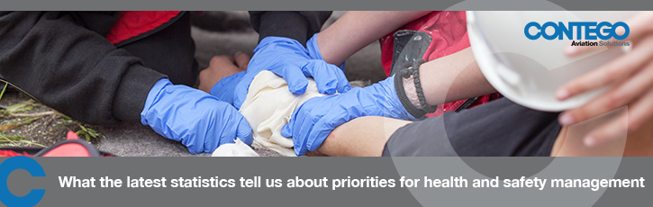 What the latest statistics tell us about priorities for health and safety management