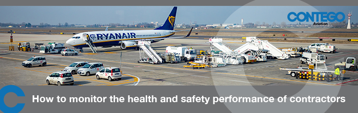 How to monitor the health and safety performance of airside contractors