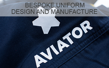 """<h3>Bespoke Uniform Design and Manufacture</h3><p>The creation and manufacture of bespoke airport staff uniforms and aviation workwear to meet our customers' evolving & exact needs.</p><p class=""""more-info"""">MORE INFO</p>"""