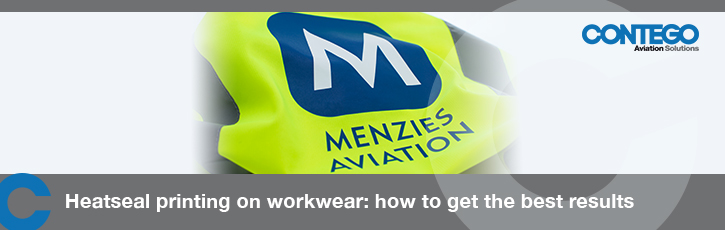 Heatseal printing on aviation workwear: how to get the best results